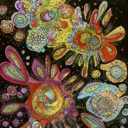 Maureen Claffy Gratitude detail 1