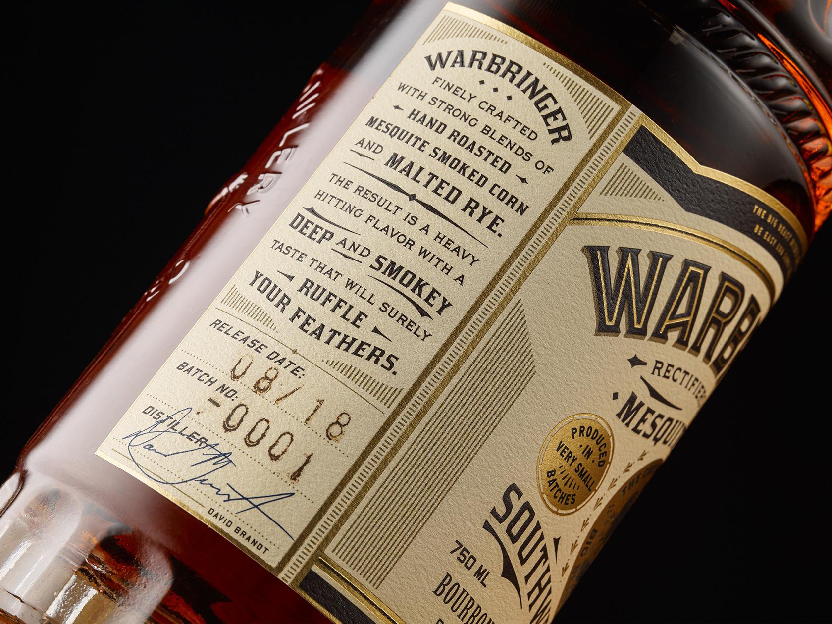 Warbringer Side Label Glass