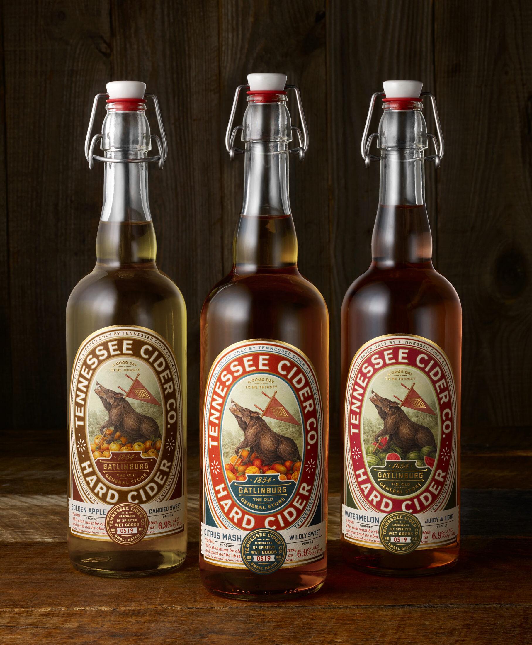 Tennessee Cider trio - Chad Michael Studio