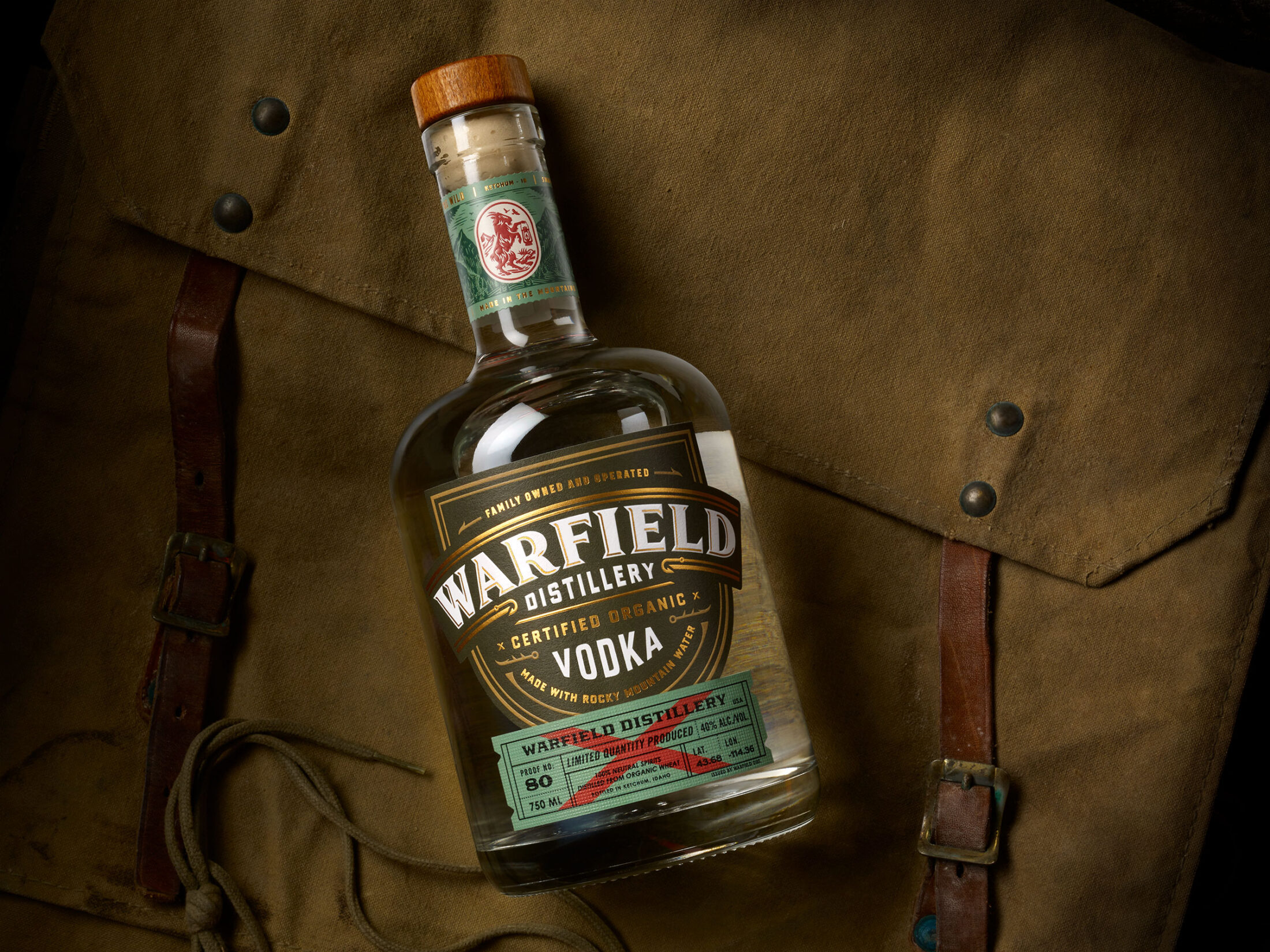 Warfield Vodka - Chad Michael Studio