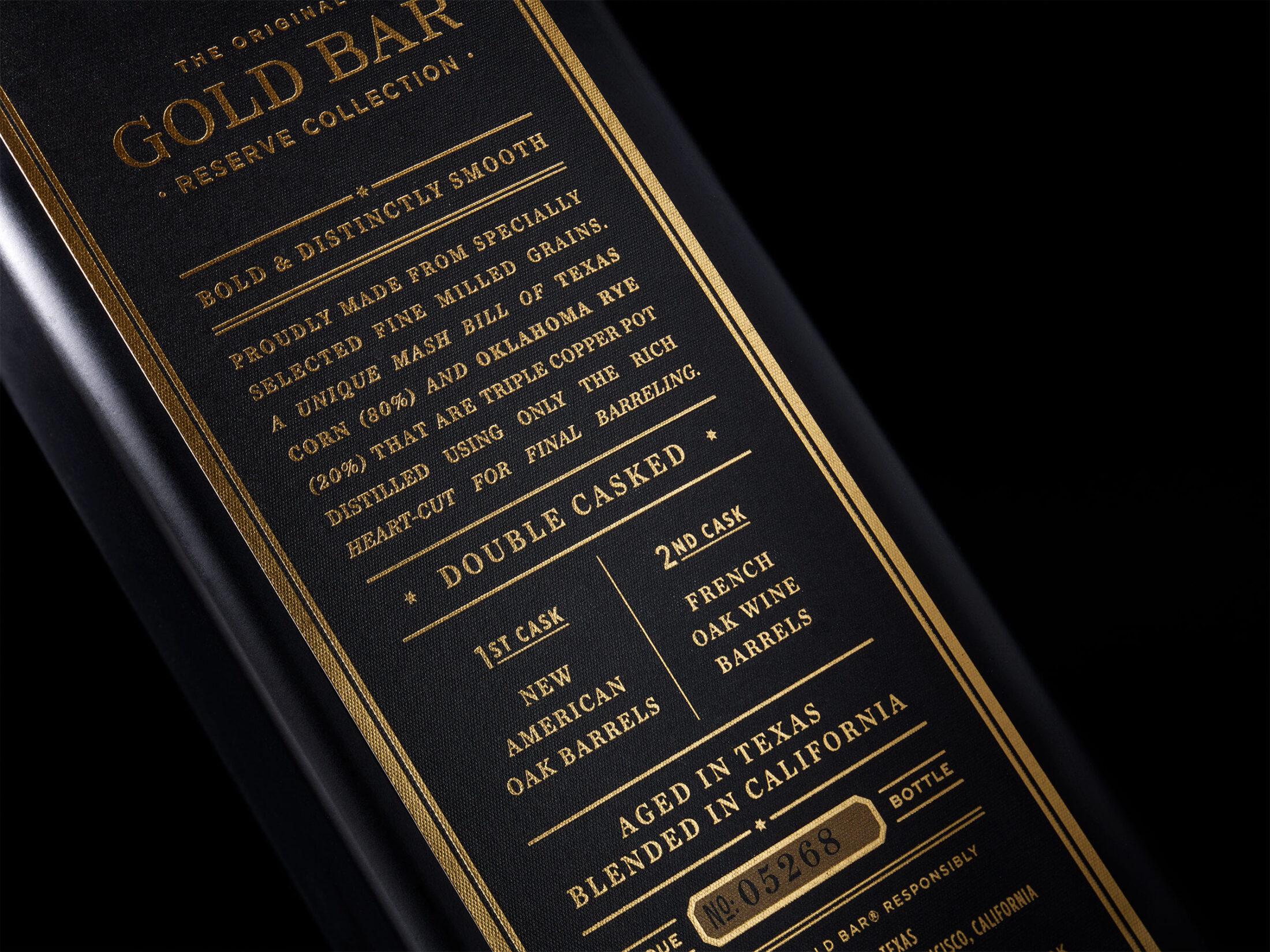 Gold Bar Black - Chad Michael Studio