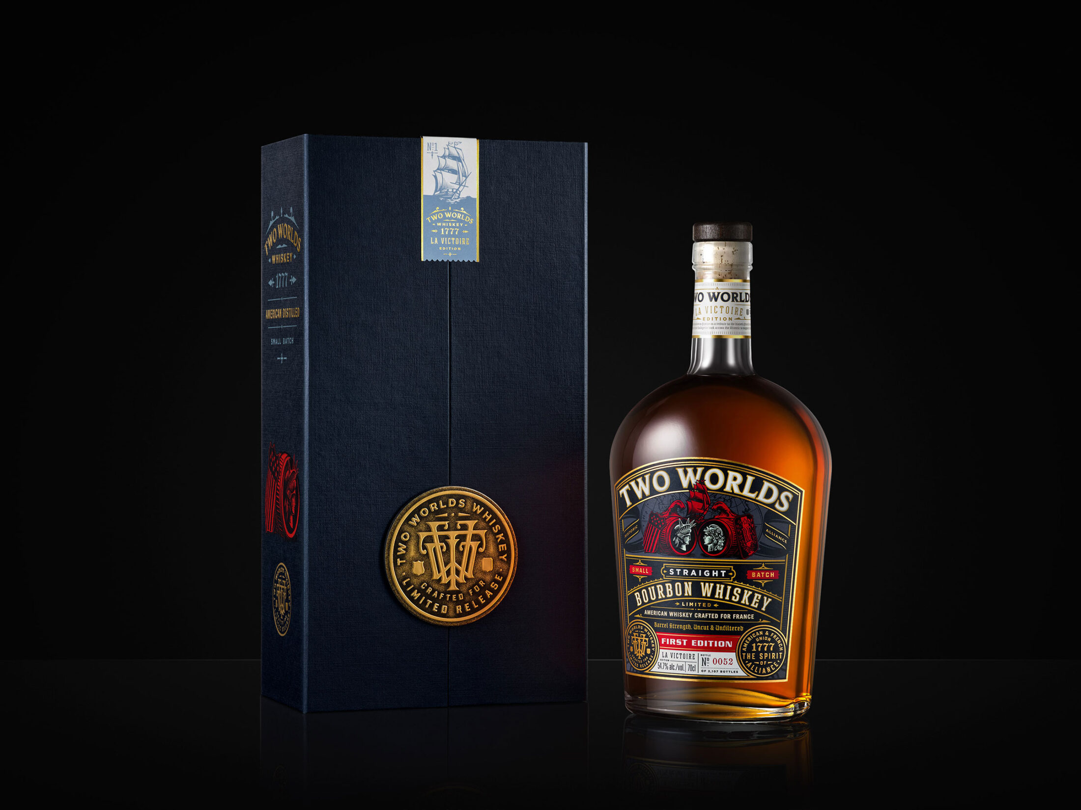 Two Worlds Bourbon Whiskey
