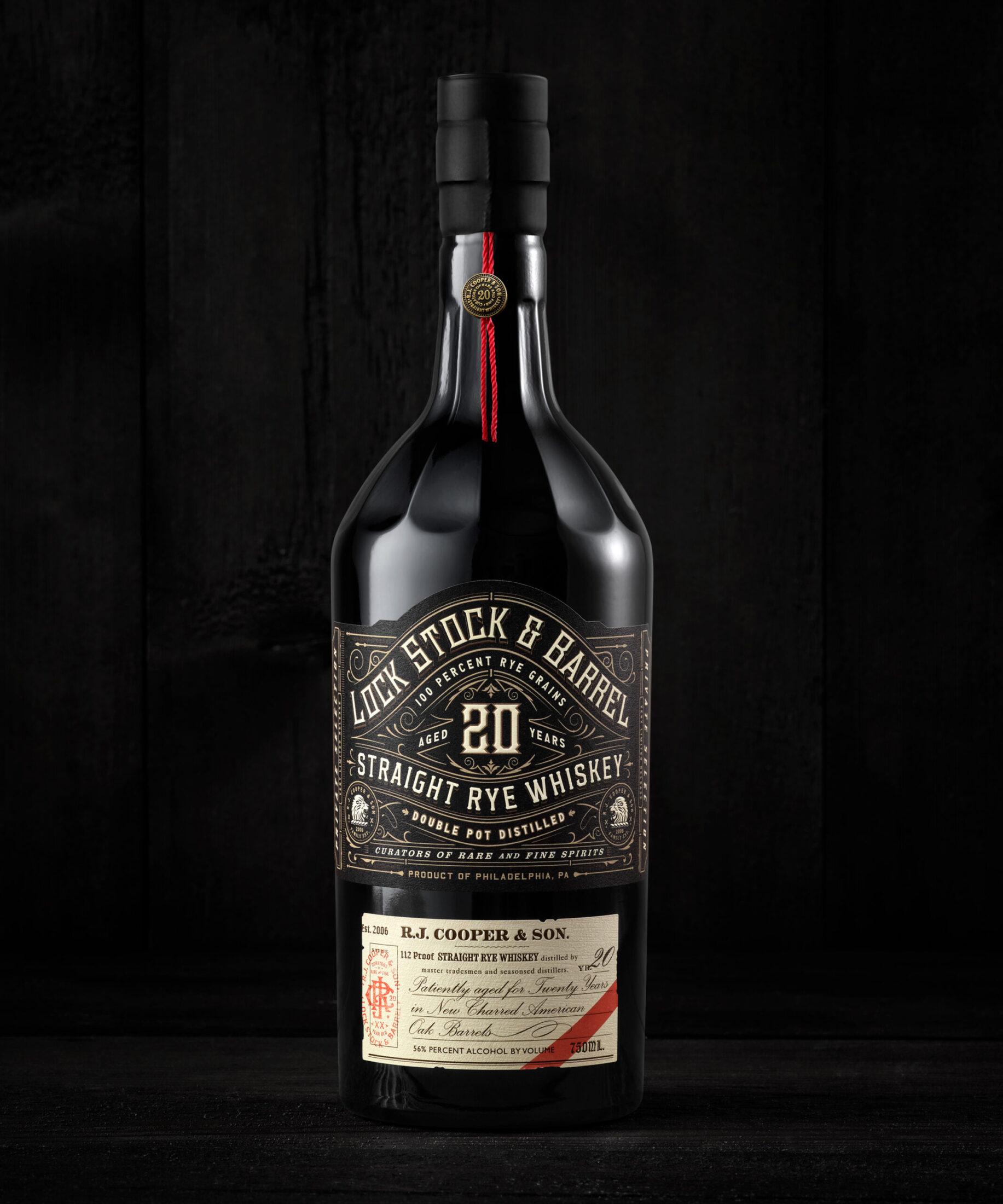 Lock Stock & Barrel 20 year whiskey