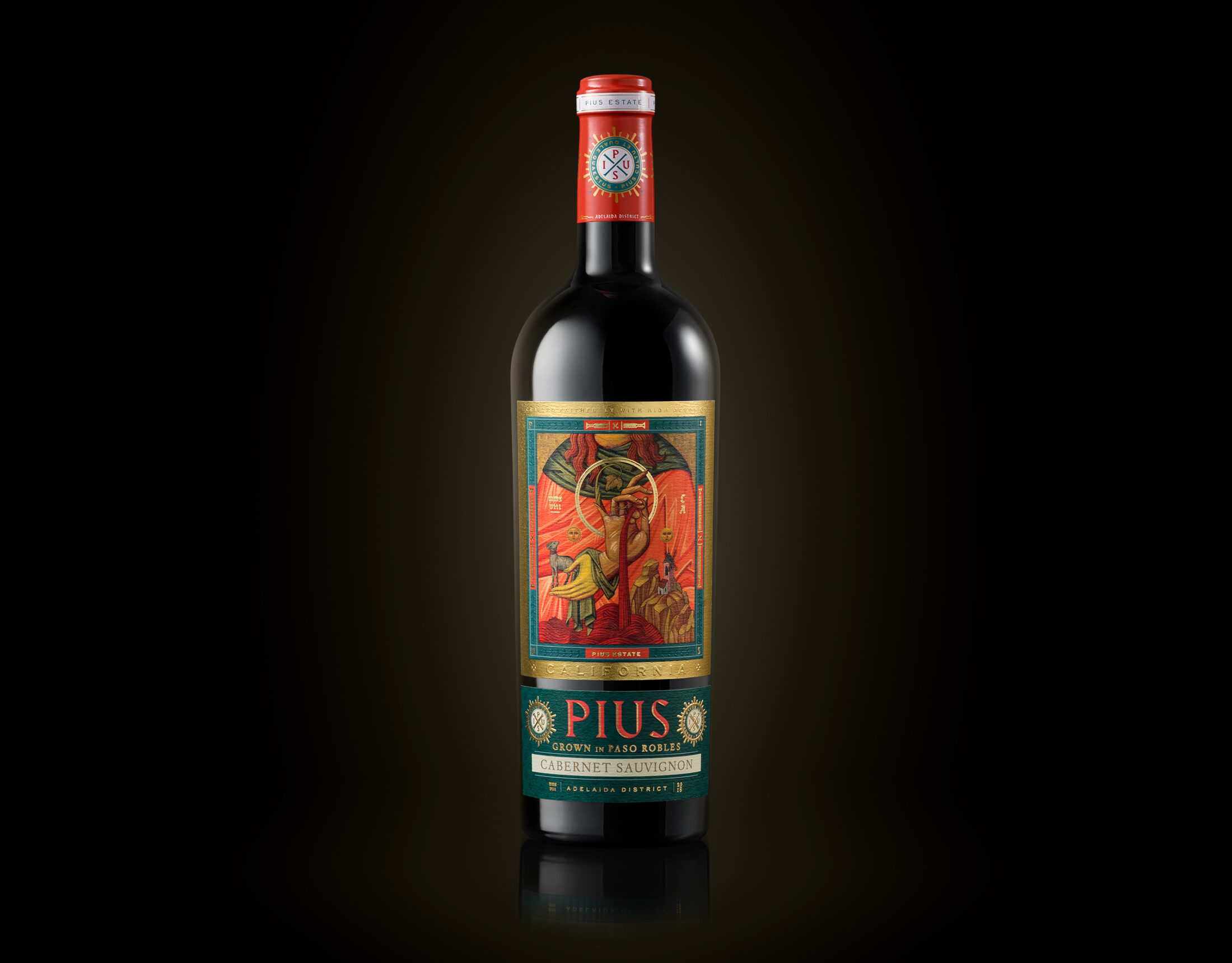 wine packaging for PIUS estate