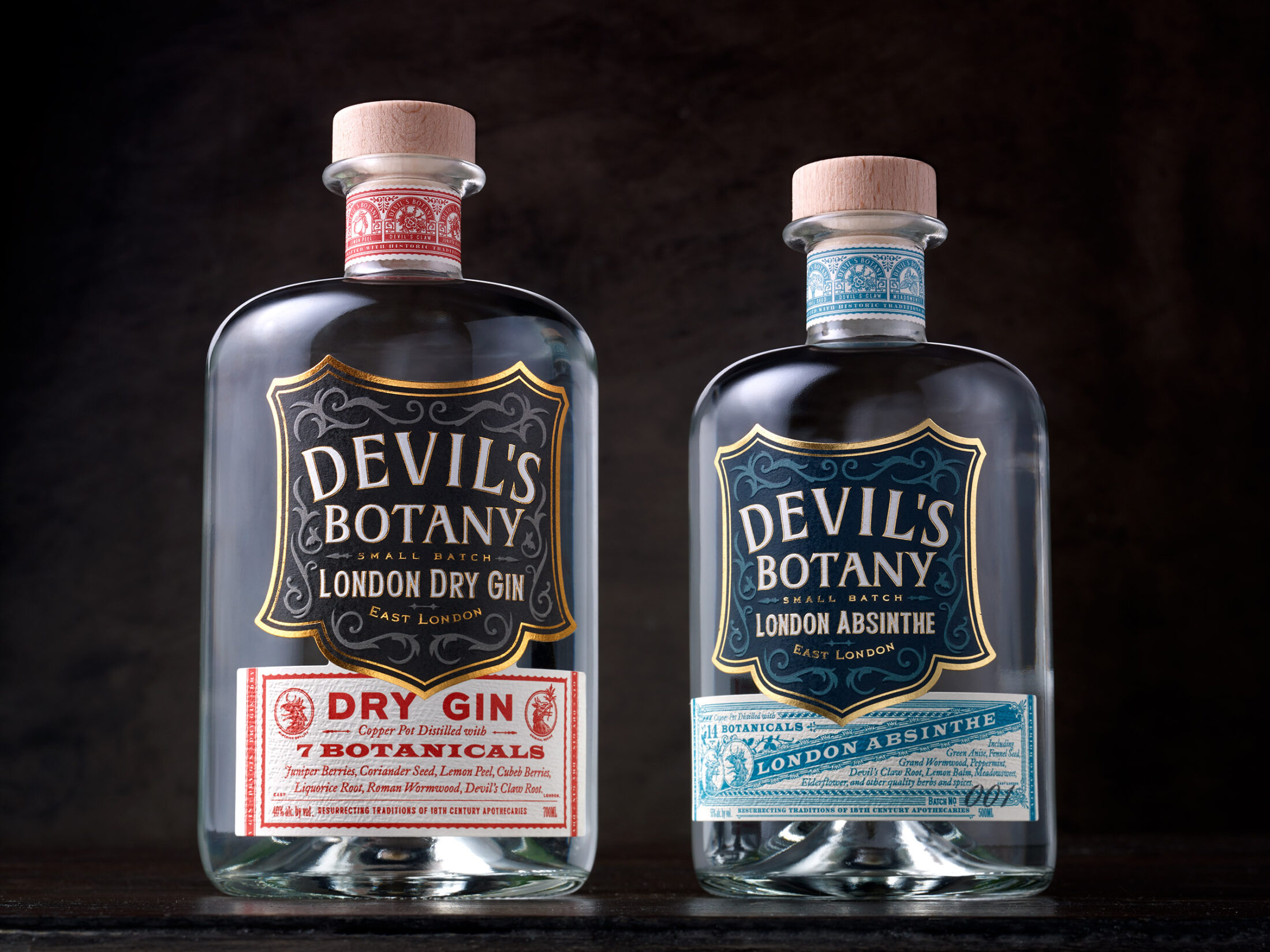 Chad Michael Studio - Devil's Botany Absinthe and Dry Gin