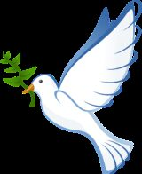 dove, peace, flying