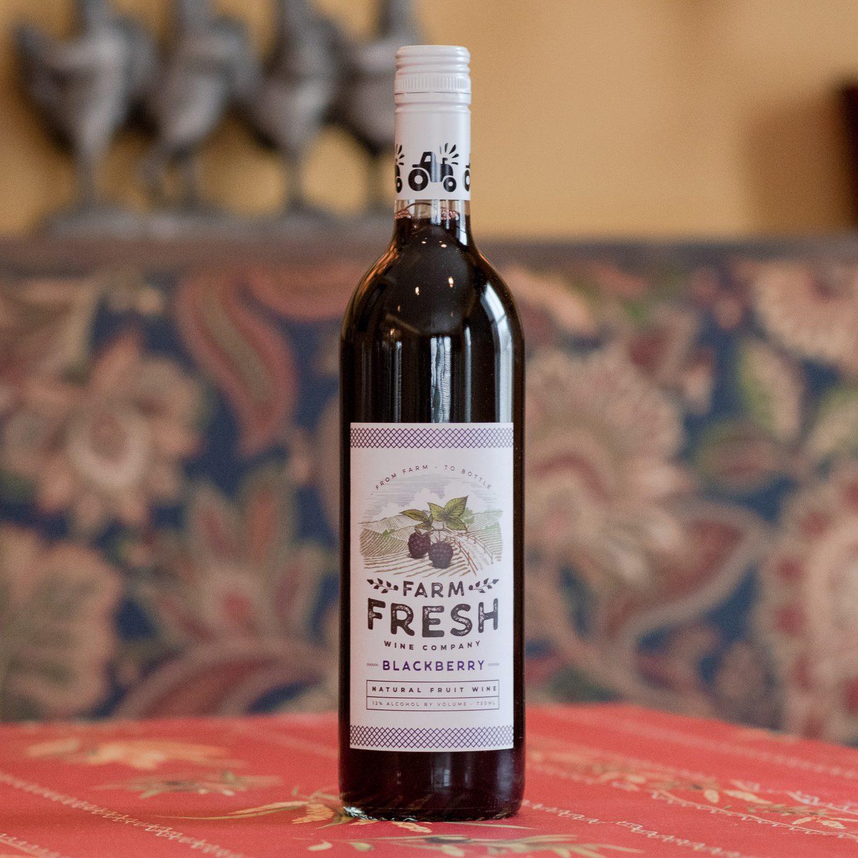 Blackberry Fruit Wine