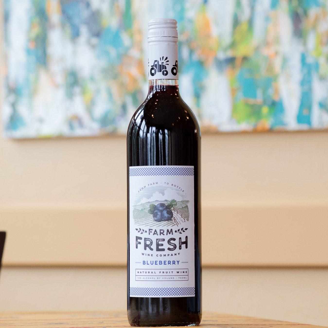 Blueberry Fruit Wine
