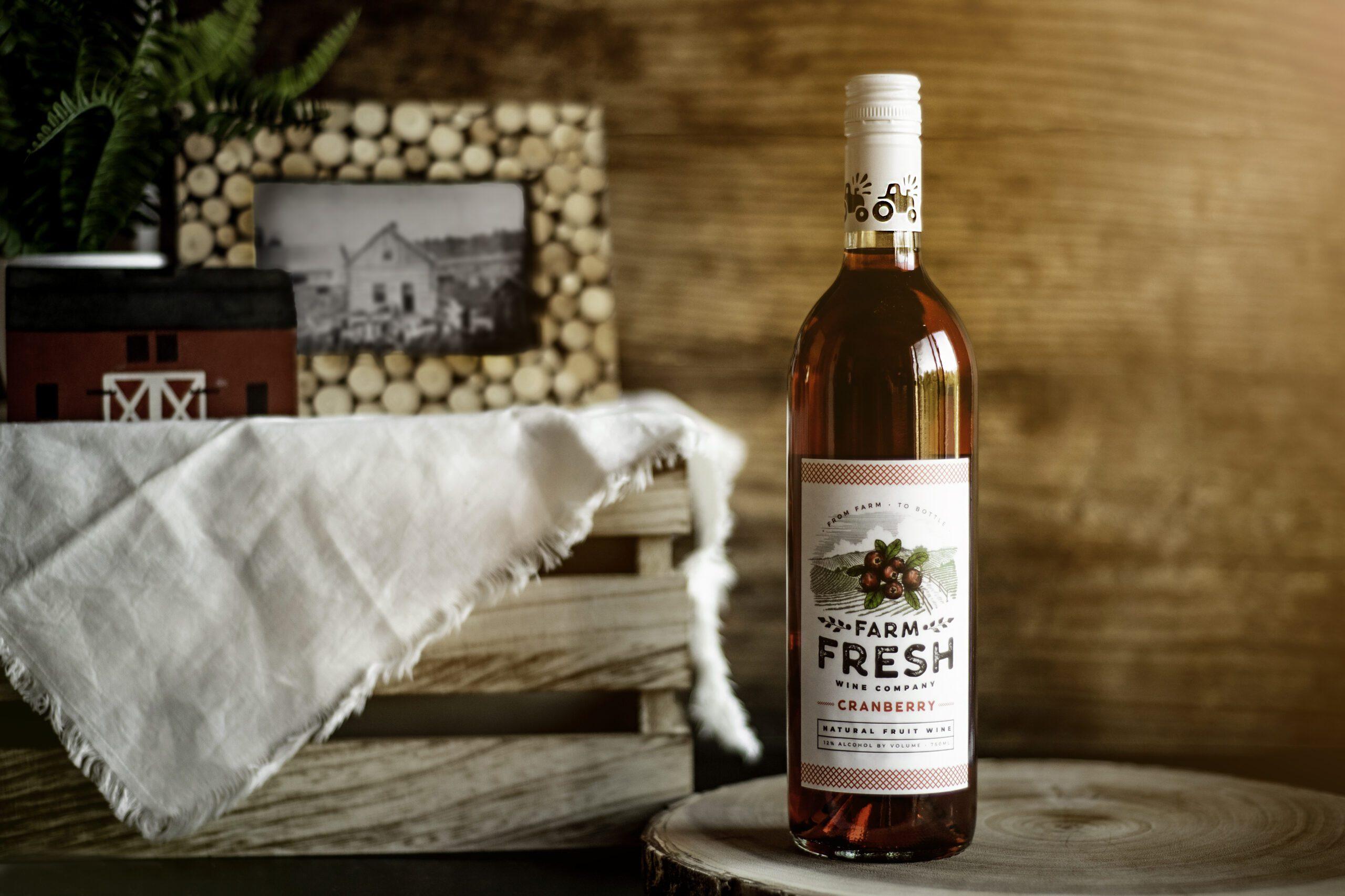 Farm Fresh Cranberry Wine