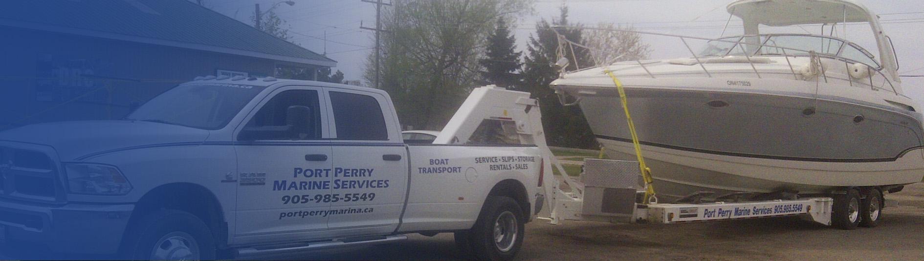 Toronto, Greater Toronto Area & GTA boat transport