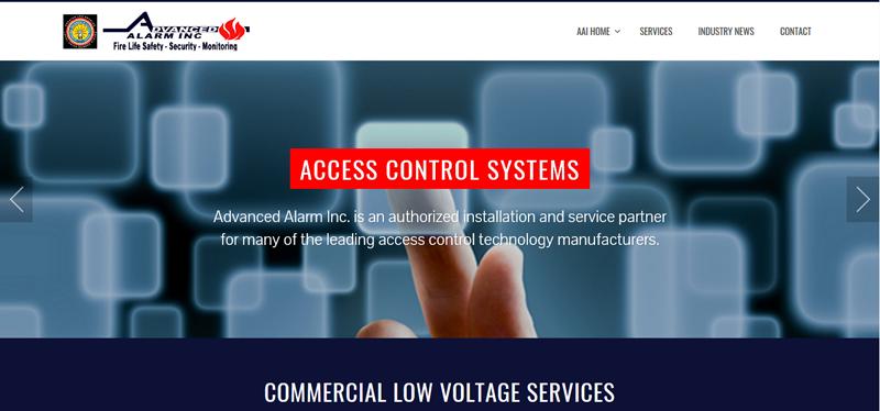 Advanced Alarm Website Design
