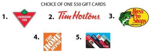 Receive one gift card if your referral turns into a sale