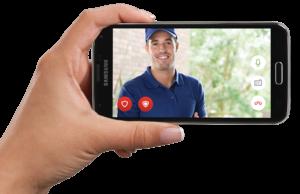 Video doorbell delivery