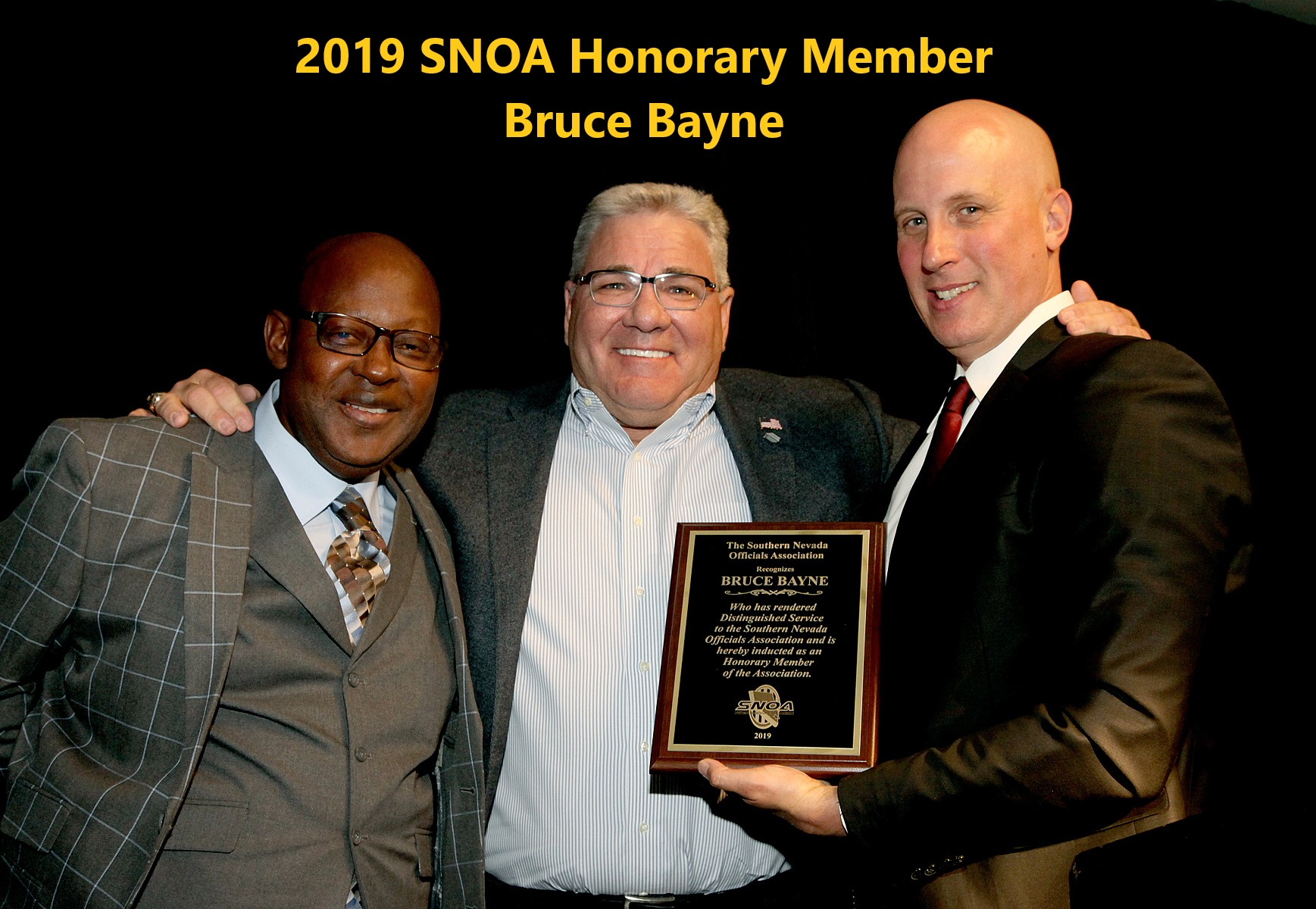 2019 Banquet Bruce Bayne