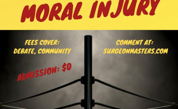 Burnout v moral injury