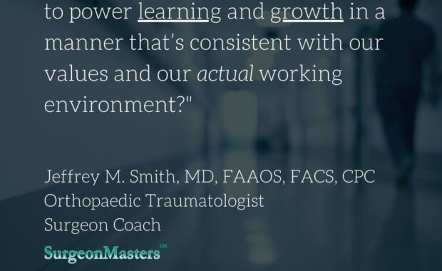 What if we could use coaching to power learning and growth in a manner that's consistent with our values and our actual working environment