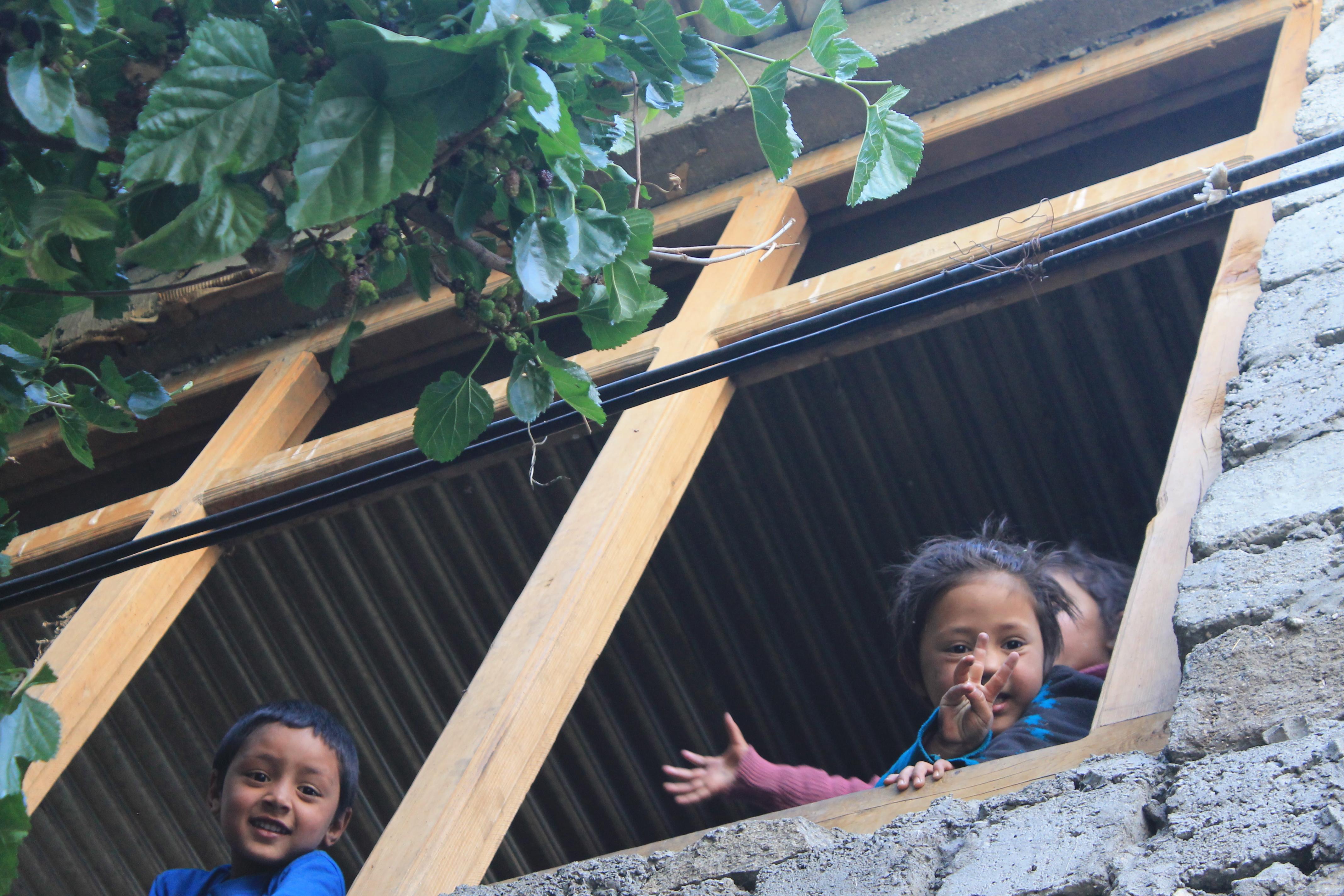 Children In Turtuk