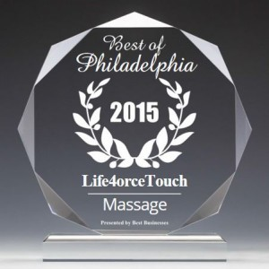 2015 Best Massage in Philly