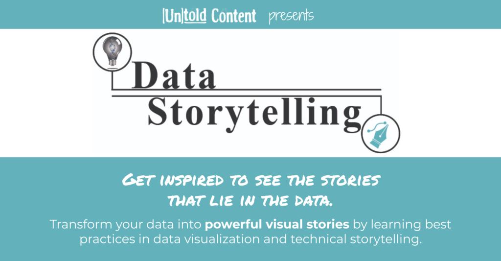 Data Storytelling Training Ad