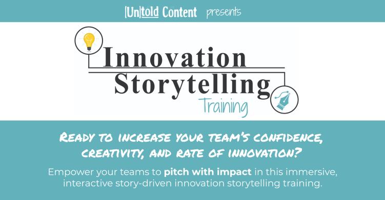 Innovation Storytelling Training Podcast Ad