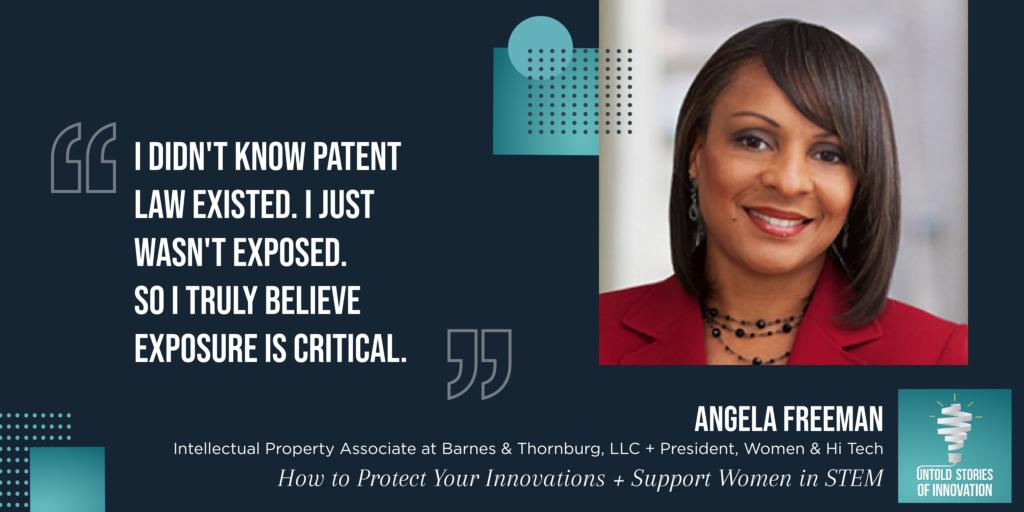 Angela Freeman Quote
