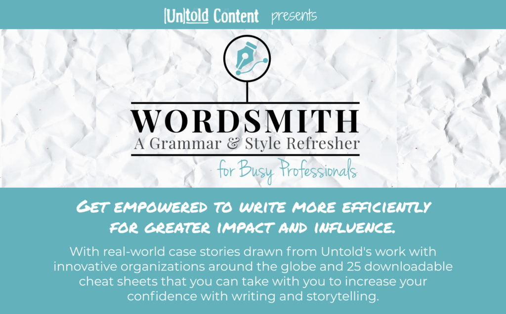 Wordsmith Ad