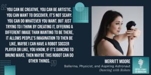 Dancing with Robots Merritt Moore Quote