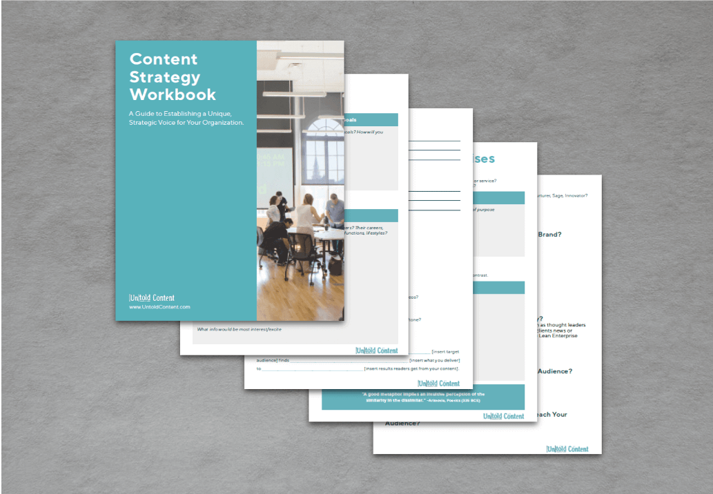 Content Strategy Workbook