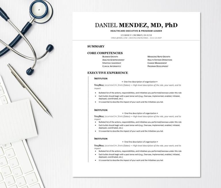 Medical CV Templates