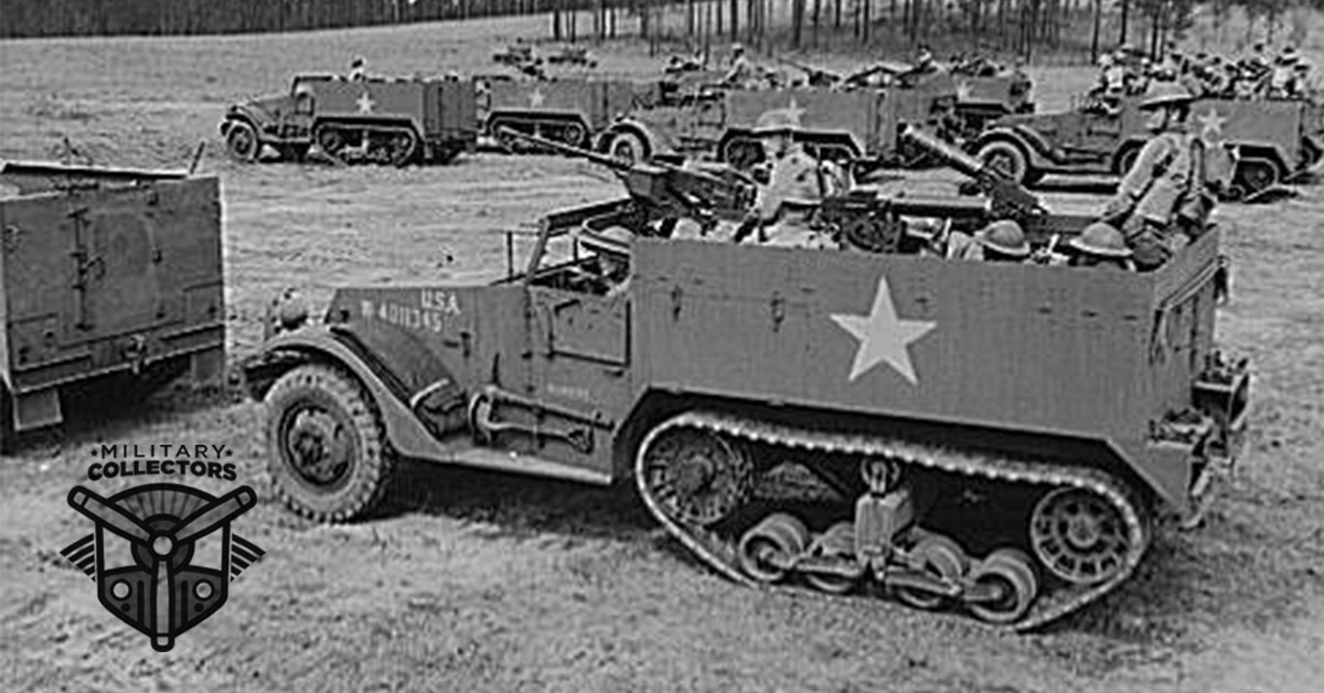 M2 Half Track Car: Military Collectors History