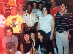 Me with Lotus Software crew.