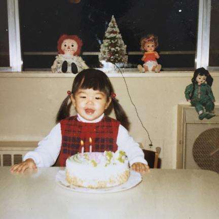 Me with birthday cake.