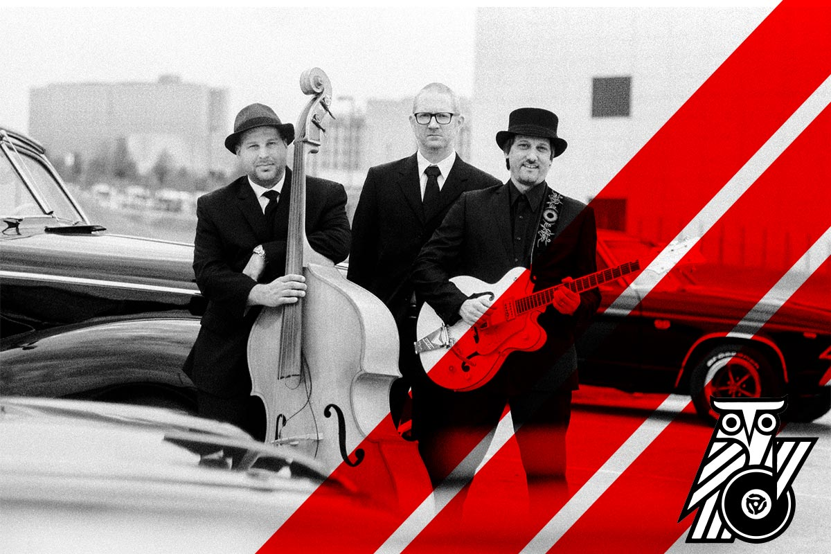 The Vinyl Stripes Rockabilly band