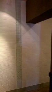 Public washroom, Tile combination