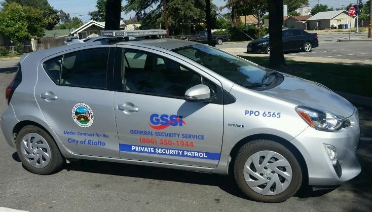 patrol vehicles