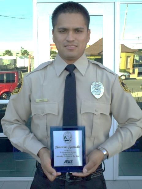 GSSi security officer