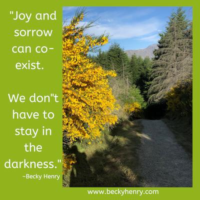 Why Joy, by Becky Henry, CPCC