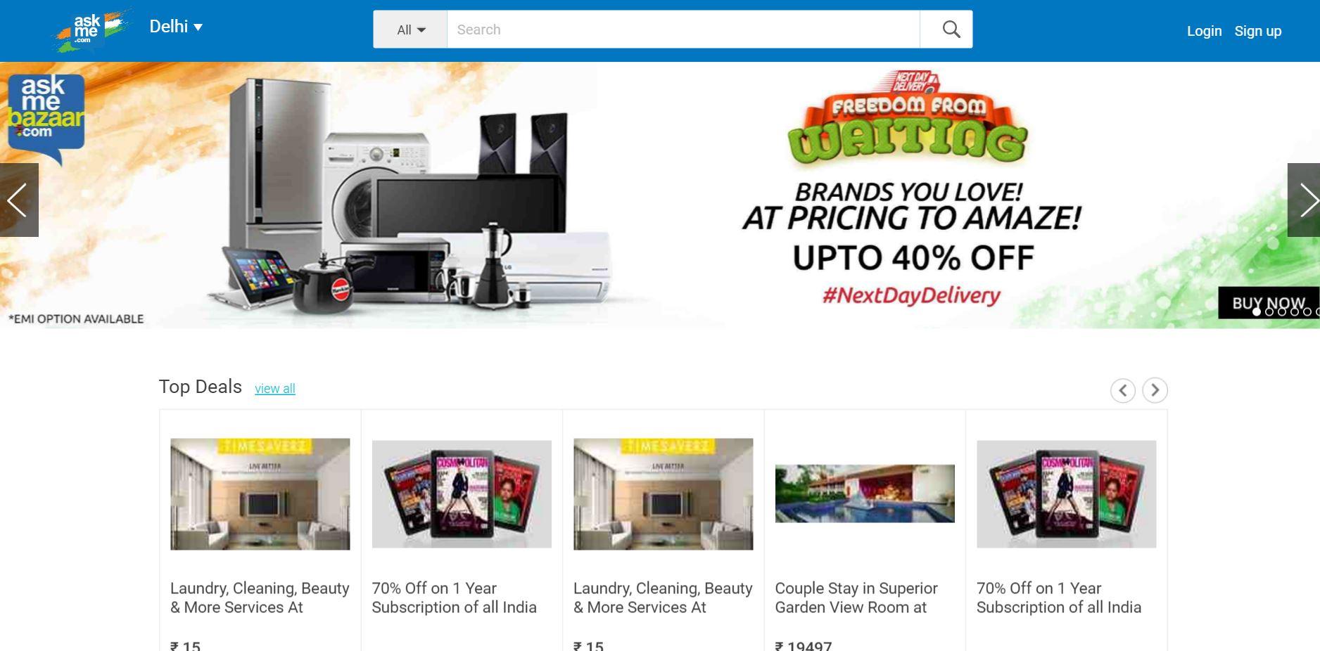 Cash crunch kills Indian e-retailer AskMe