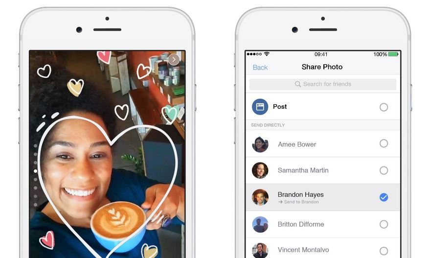 Is Facebook blatantly copying Snapchat on filters and special effects?