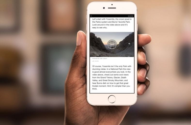 Facebook makes Instant Articles more immersive by bringing 360 videos