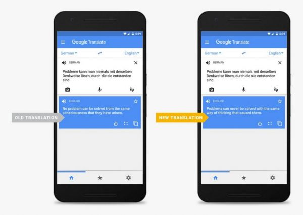 Google Translate will be more accurate, thanks to machine learning