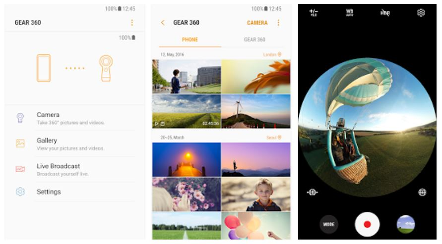 Official app for Samsung Gear 360 camera arrives on Google Play store