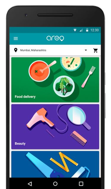 Google Areo is the new delivery and service aggregator app for India