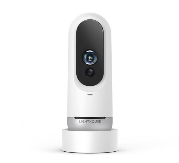 Lighthouse is a smart security camera that can recognize visitors and even interact