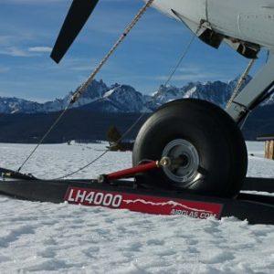 LH-4000 Hydraulic Wheel Ski: Cessna 180/185 and Bushhawk