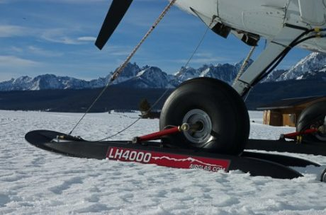 LH-4000 Hydraulic Wheel Ski: Cessna 180/185 and Bushhawk