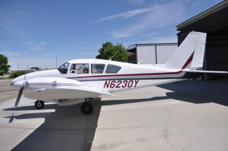 1966 PIPER Aztec PA-23-250 Turb-Charged