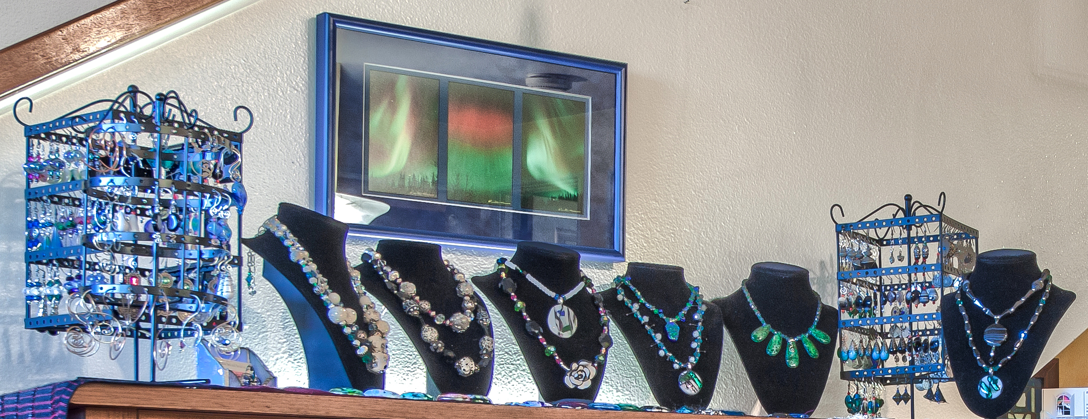 Hand made one of a kind jewelry.