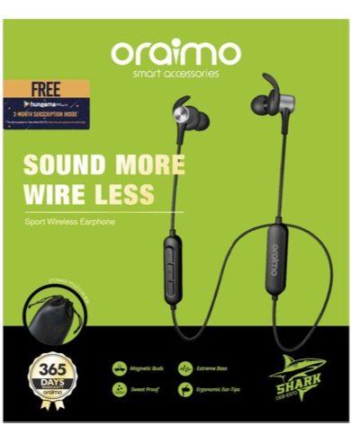 Wireless earphone oraimo OEB-E57D black