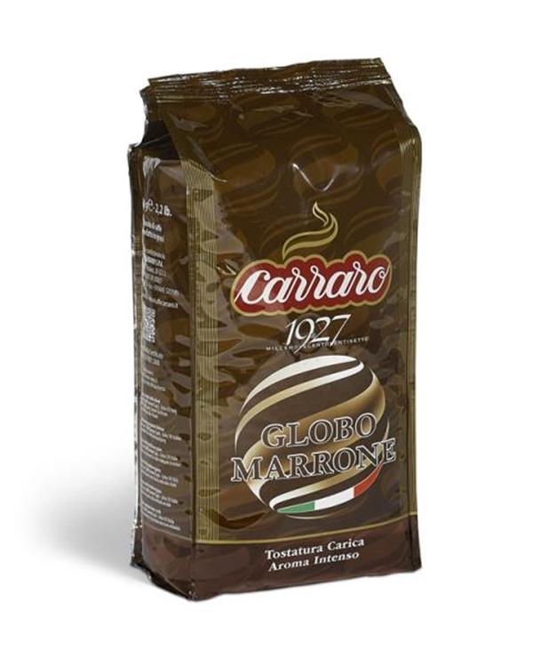 Carraro Caffe Espresso Globo Marrone Whole Beans 1000 G